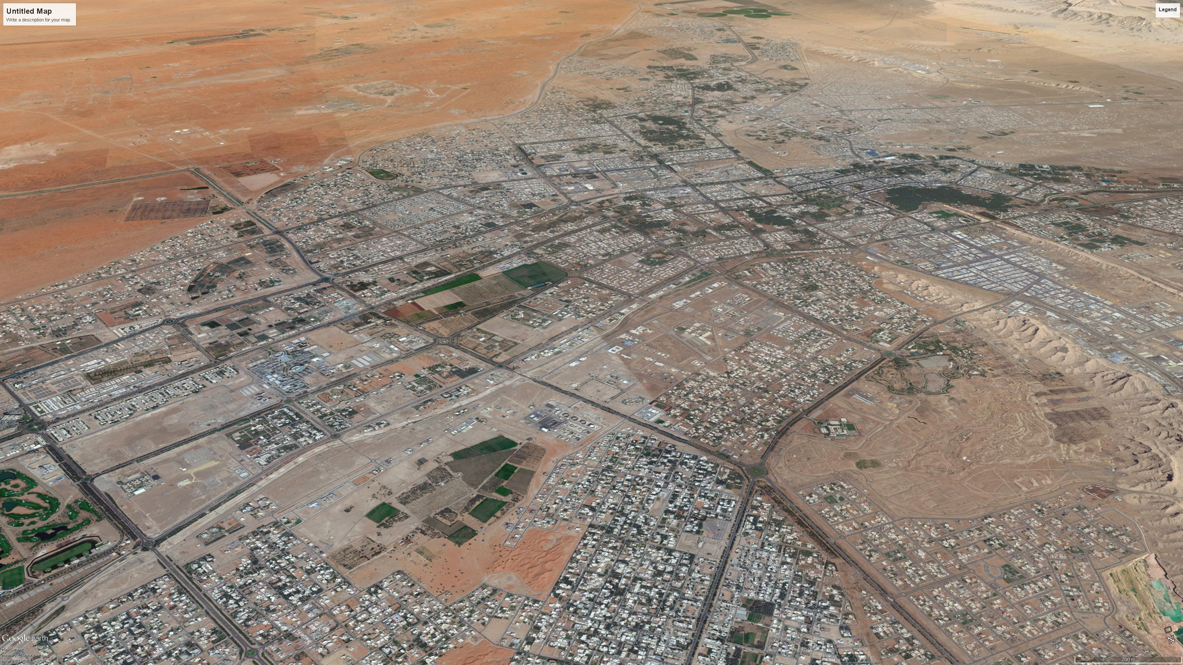 Al Ain Transportation Studies: Transit Corridors and Hubs